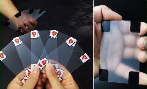 Прозрачная колода карт